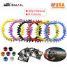 30T Single 104bcd Narrow Wide Chainring XC BMX MTB Road Bike Chainwheel Sprocket