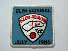 1986 Watkins Glen Region Grand Prix Racing Patch ( #2380)