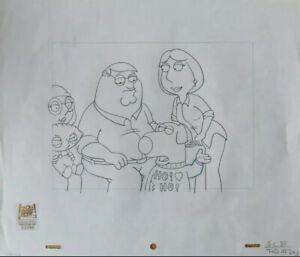 Family Guy Original Production Drawing Art Cel