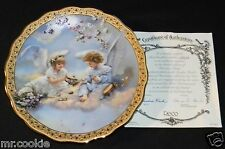 Precious Party Plate by Sandra Kuck Gardens of Innocence Collection COA 3465A