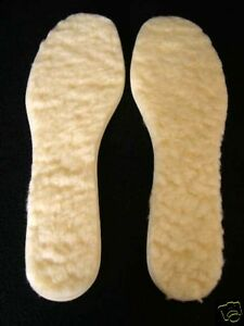 WARM THERMAL WOOL WORK SHOE BOOT INSOLES MENS SIZE 12