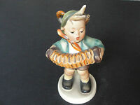 "Hummel Goebel Figurine 185, TMK-3  ""Accordion Boy"" ""Stylizied Bee"" Mark .EX!!"