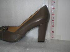 Circa Joan & David New Womens Found It Olive Green Open Toe Heels 8 M Shoes