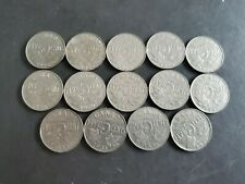 Canada 1922 to 1936 5 Cents George Canadian Nickels 14 coins -1926 Near Included