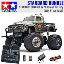 TAMIYA RC 58365 Midnight Pumpkin Monster Truck 1:12 Paquete de radio estándar de palo