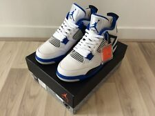 DS 2017 NIKE AIR JORDAN 4 RETRO GAME ROYAL Motorsport US 11.5 UK 10.5 OG cemento