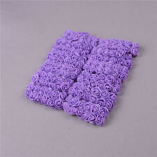 144Pcs 2cm PE Foam Artificial Rose Flowers Wedding Bride Bouquet Party Decor .*