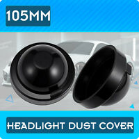 2pcs 105MM IRONWALLS Dust Cover Rubber Housing For LED Car Headlights HID Bulbs