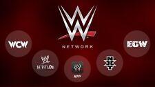 WWE NETWORK *LIFETIME WARRANTY!!!* (LIVE 1080p HD)🇬🇧🌍