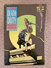 Fury Black Widow: Death Duty by Cefn Ridout (Paperback, 1995)