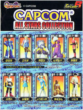Capcom All Stars Collection R Gashapon Set of Ten (2004) Brand New Japan Import
