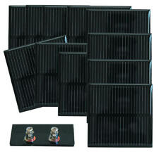 Lot de 10 cellules solaires 0,50 V - 850 mA