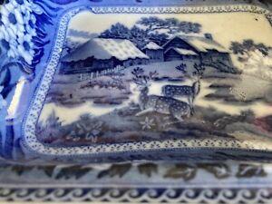 Original 1881 wedgewood serving tray Fallow Deer Vintage