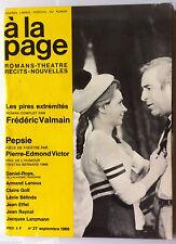 à la page n°27 du 9/1966; Pepsie/ Lénie Bélinda/ Jacques Lanzmann/ Claire Goll