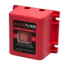 KICKASS 12 Volt 140 Amp Dual Sensing Voltage Sensitive Relay VSR with Override