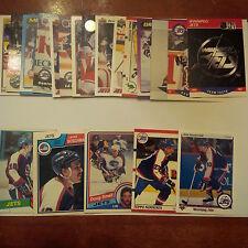 Winnipeg Jets Lot of 25 cards-70's/80's Cards, Jets Heros, Rookie Cards