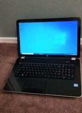 HP Pavilion 17-e117dx Laptop Intel i3 128GB SSD 8GB RAM Webcam DVDRW Win 10