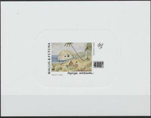 [P25175]. Wallis Futuna 1994 painting Airmail good very fine LUXE sheet