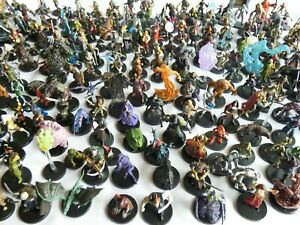 Random New Dungeons and Dragons Official Prepainted Miniatures - Bulk Lot