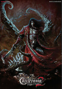 """Castlevania 2: Lords Of Shadow - Gaming Poster / Print (Dracula) (27"""" X 39"""")"""