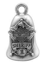 Harley-Davidson® Sheriff Star Badge Bar & Shield Motorcycle Ride Bell HRB062