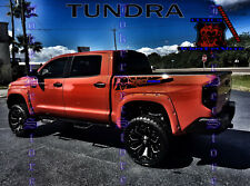 Toyota Tacoma Tundra TRD Pro Graphics Vinyl Custom Truck Bed Decal Stickers kit