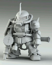 SUNIN7 Gundam SD MS-06S ZAKU Resin Recast Kit
