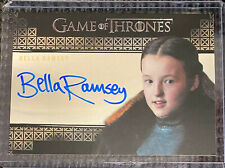 Bella Ramsey - Game of Thrones Inflexions Autograph card Rittenhouse