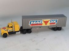 """Mad Ox World Wide Cargo Express 9"""" long tractor Trailer  truck"""
