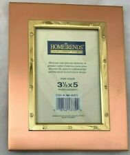 """Home Trends 5.5X7"""" Copper Frame Holds 3 1/2 X 5"""" Photo"""