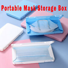 Portable Face Cover Storage Box Holder Dustproof Container Plastic Seal Box Case