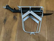 Topeak QR Beam Bike Pannier Rack with Side Frame and Defender mud guard