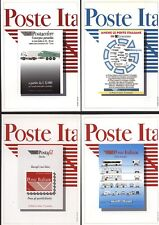 4 CARTOLINE ITALIA 1996  PUBBLICITARIE POSTE CON ANULLO 30 ORE PER LA VITA (450)