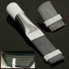 Fin Comb Air Conditioner Condenser Radiator Straightener Cleaner Clean Brush JS