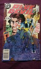 blue devil #12 signed by gary cohn rare dc comics comic book cool vintage sweet!
