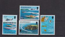 GUERNSEY 1988 OFFSHORE POWERBOAT CHAMPIONSHIPS STAMP SET MNH SG 429-432