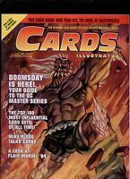 CARDS carte da colllezione magazine 7 DOOMS day top most influential card sets