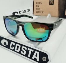 """COSTA DEL MAR matte reef/green mirror """"SPEARO"""" POLARIZED 580P sunglasses NEW!"""