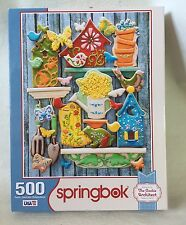 Springbok JIGSAW PUZZLE BY REBECCA WELD, COOKIE ARCHITECT Edible Garden