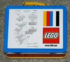 Lego exclusiva caja de almuerzo nuevo 5006017 Metal Lata Coleccionable