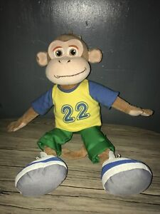 """The Croc Crew Monkey Soft Toy Approx 15"""" SUPERFAST Dispatch"""