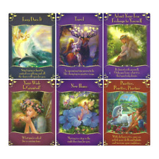 44pcs Magical Messages from the Fairies Oracle Cards Playing Cards Set Gift