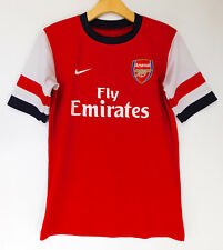 NIKE FLY EMIRATES Arsenal F.C. Football JERSEY Soccer Shirt V. Persie Logo SMALL