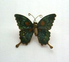 Tolle Vintage Anstecknadel Brosche Schmetterling - TOP