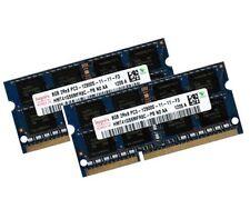 Hynix 2x 8GB 16GB RAM DDR3 1600 Mhz 204pin SO DIMM PC3-12800S Notebook Speicher