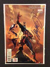 J SCOTT CAMPBELL REMARQUED Spider-Man Captain America Marvel Comics Original Art