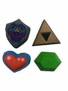 Legend of Zelda - Set of 4 Characters Squishy Squeezy New UK Stock