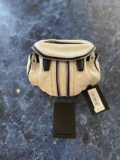 Alexander Wang Micro Marti Crossbody Bag White Leather $595