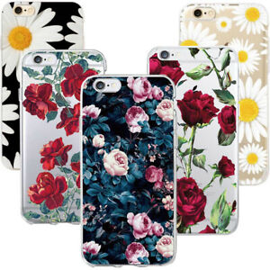 Luxury Ultra Slim Shockproof Floral Flower Case Cover for iPhone Xs Max + Film