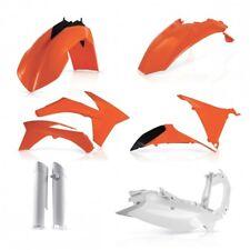 Acerbis plastic Kit KTM EXC EXC-F 125 200 250 350 450 500 530 12-13 Blanco/o OEM